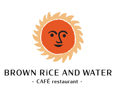 BROWN RiCE AND WATER