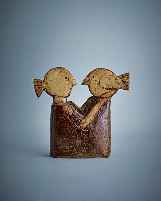 スティグ・リンドベリにインスピレーションを受けた彫像作品画像