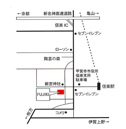 FUJIKI会場地図